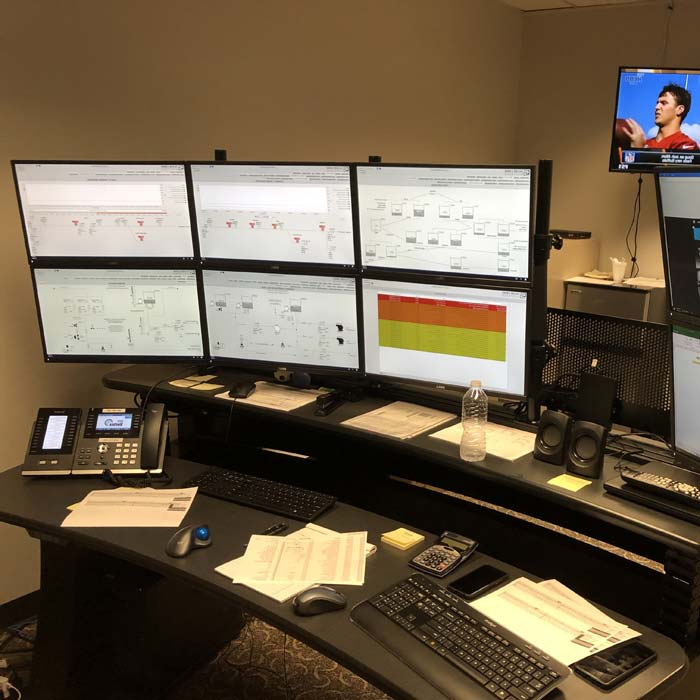 Sit/Stand Command Center Consoles